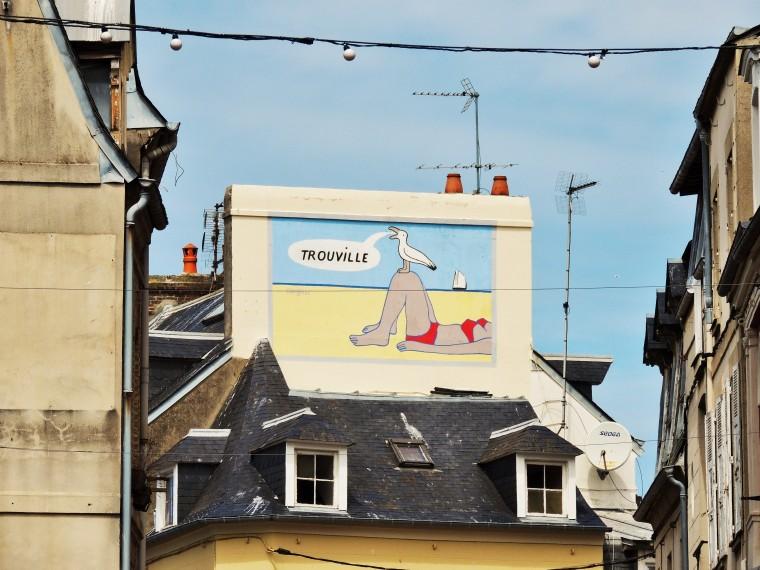 Deauville-Trouville and Harfleur