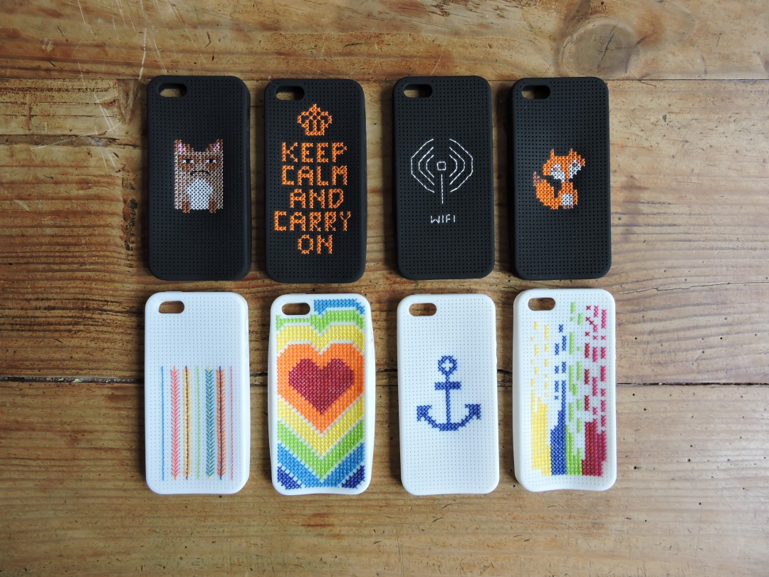 coque d'iphone brodée