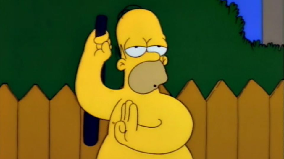 Simpsons Whacking day