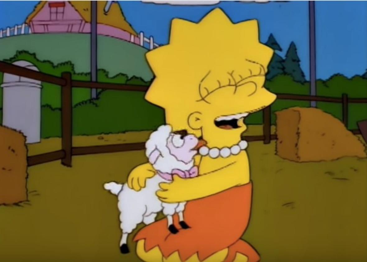 Simpsons Lisa the Vegetarian