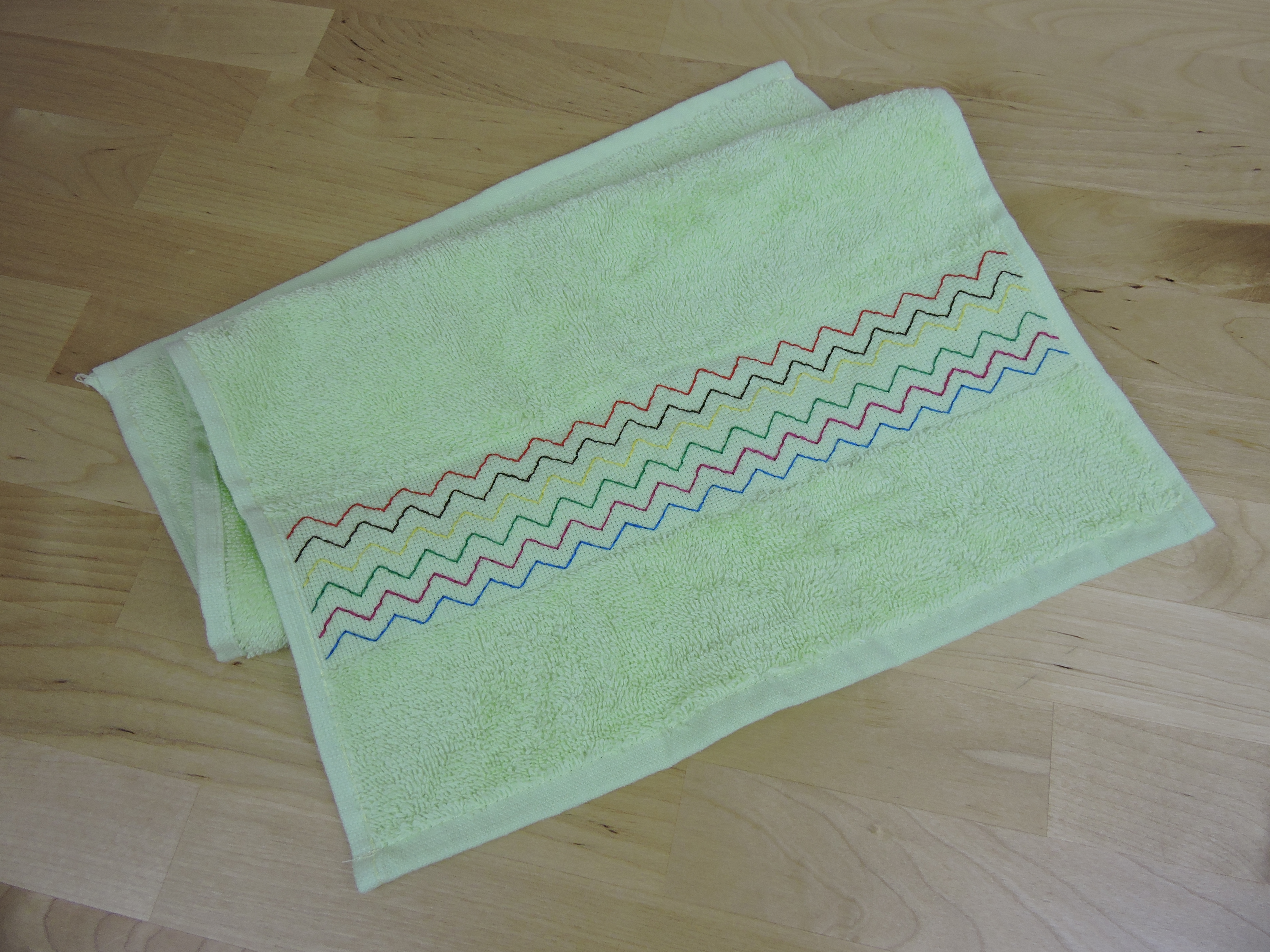 hand towel embroidery
