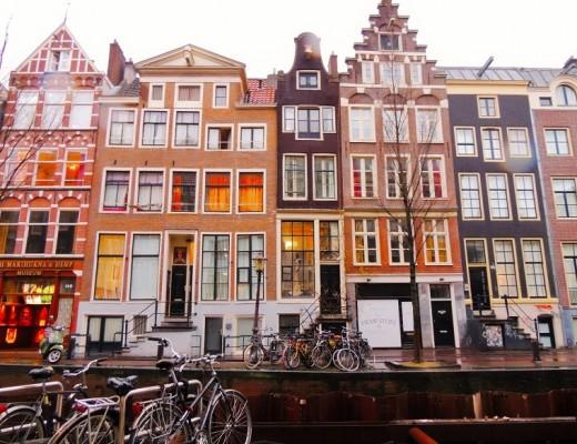 Maisons étoites Amsterdam
