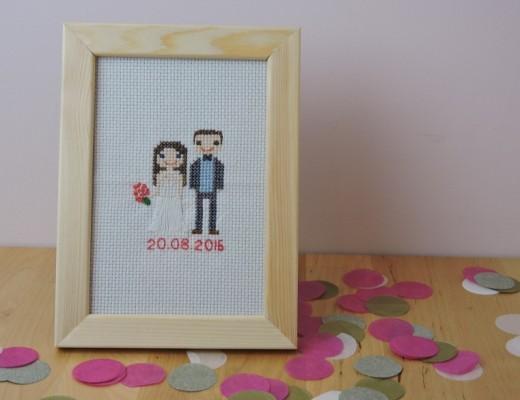Point de croix de mariage (1)